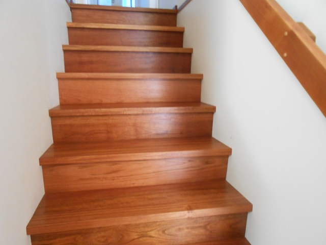 North American Cherry Hardwood Stairs