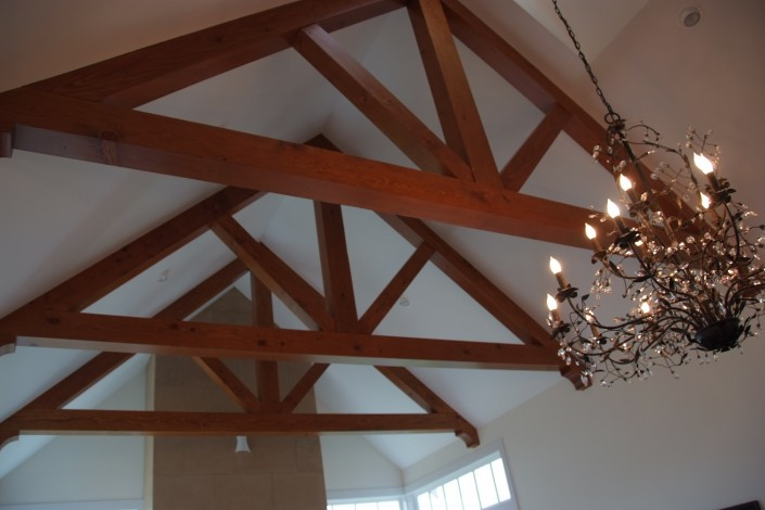 Hardwood Decorative Trusses