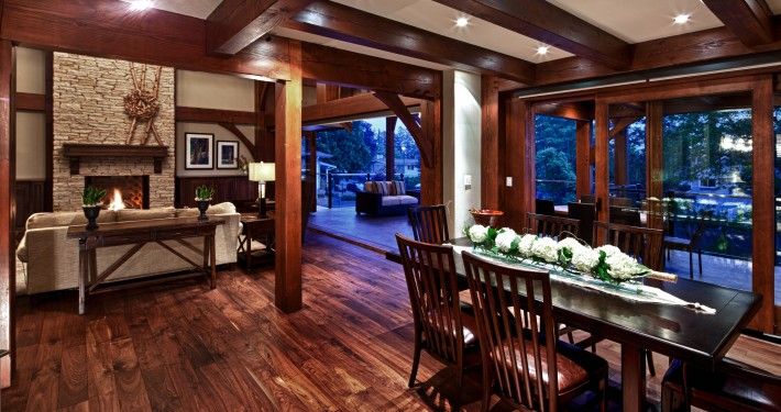 Black Walnut Hardwood Floor