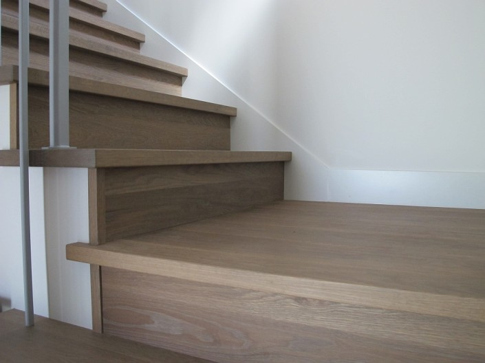 Custom Hardwood Stair Treads