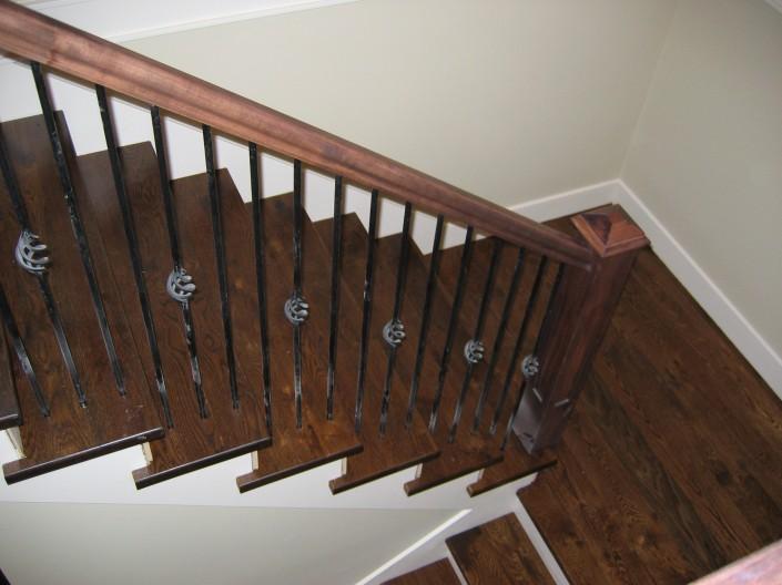 Beau White Oak Hardwood Stairs