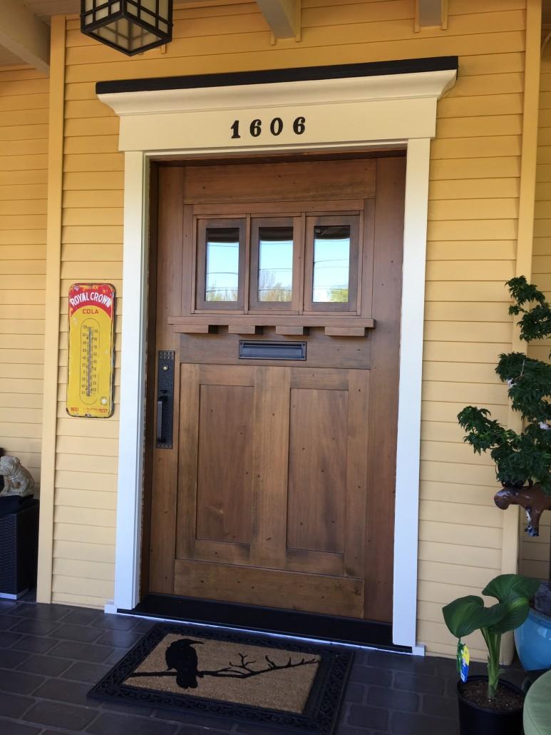Wide Plank Hardwood Barn Doors