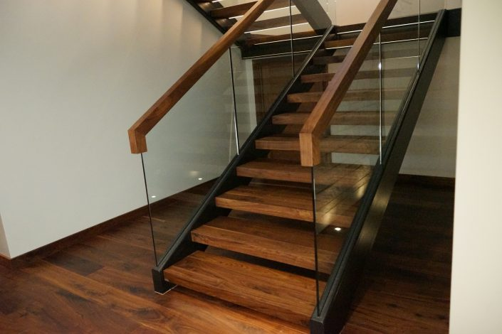 Custom Floating Stairs