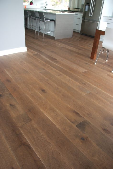 White Oak Custom Hardwood Flooring - Langley