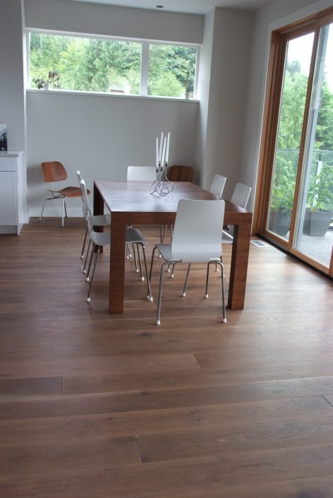 Custom Engineered Hickory Hardwood Flooring - Richmond