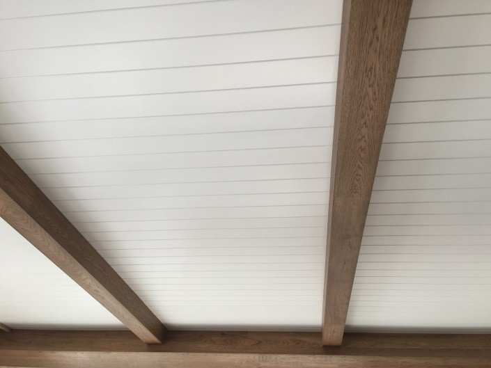 Hardwood Beam Cladding and Ceiling Paneling