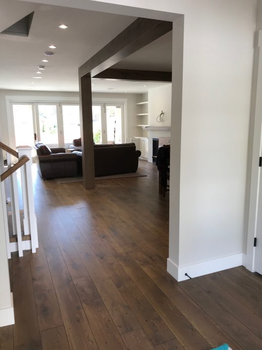 White Oak Custom Hardwood Floor