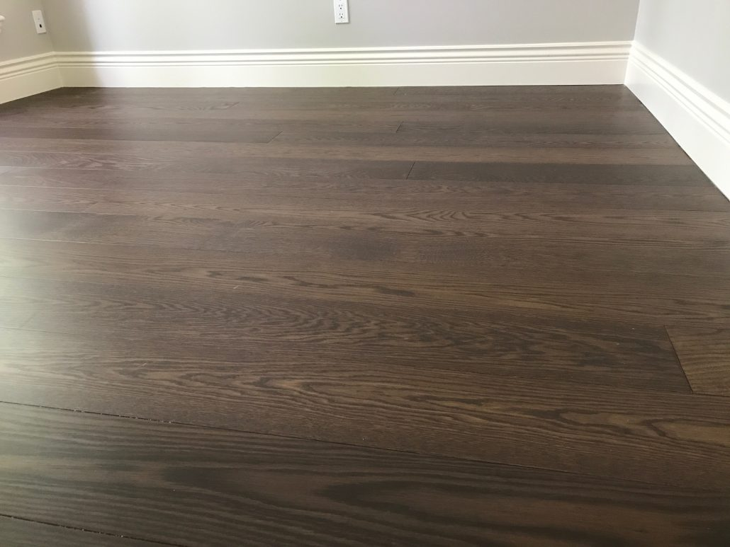 Custom Wide Plank Hardwood Flooring - Surrey