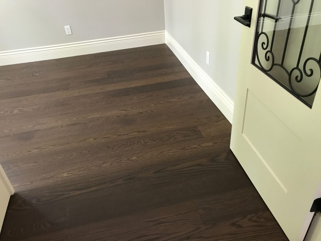 Custom Wide Plank Hardwood Flooring white rock