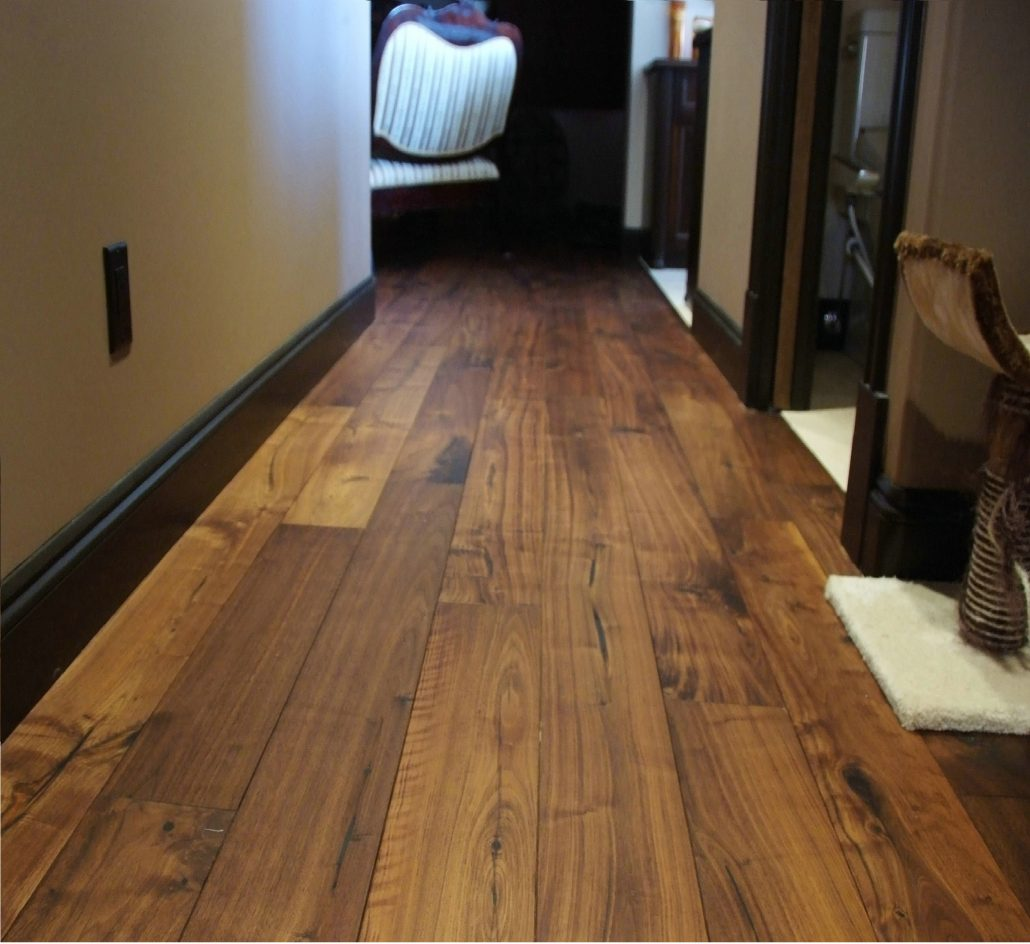 Wide Plank Hardwood Natural Series Black Walnut Oil