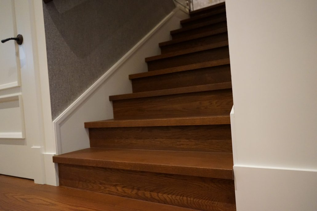 Custom Hardwood Stairs