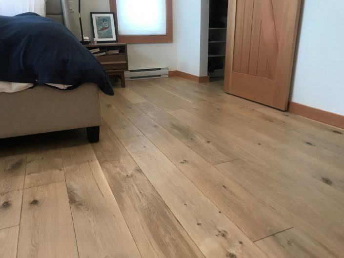 White Oak Custom Hardwood Floor - Whistler