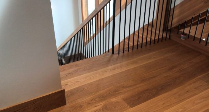 White Oak Custom Hardwood Planks - Langley