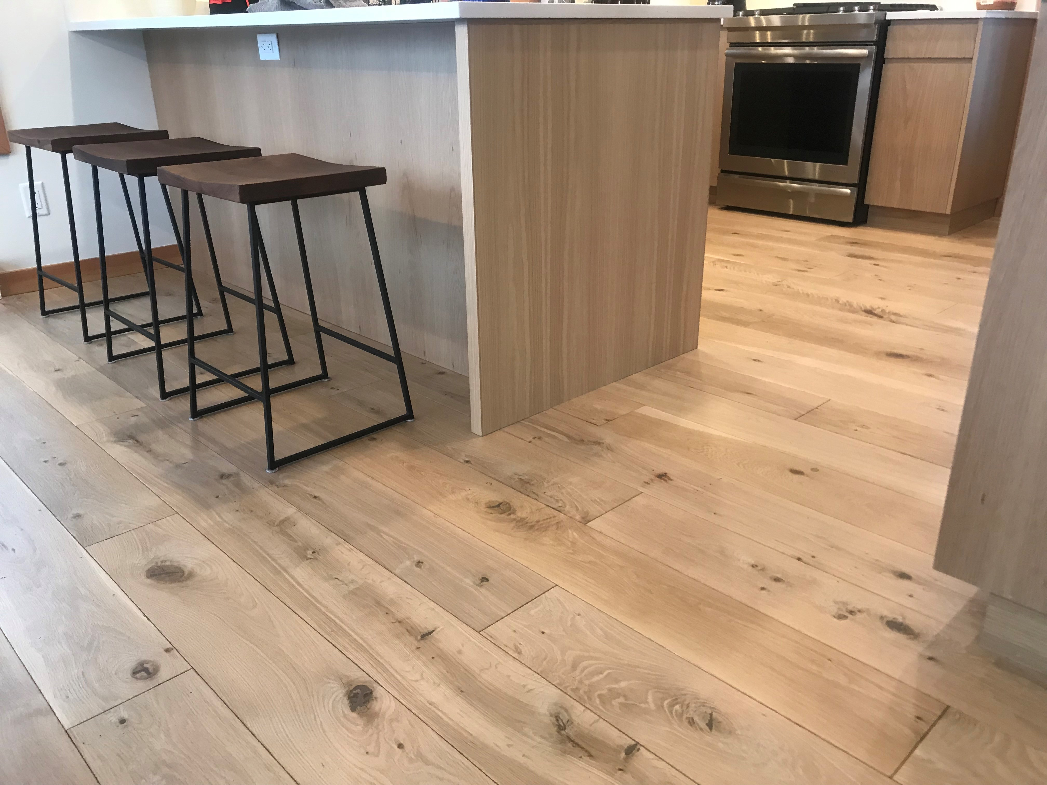 Wide Plank Hardwood Natural Series White Oak