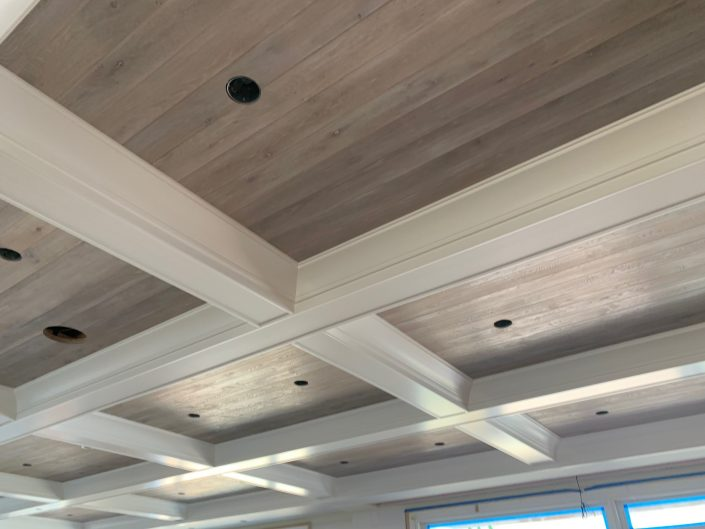 Ceiling panelling - White Oak - Select