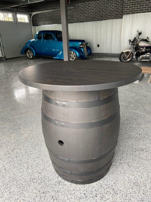 Wine Barrel - VG Fir Top
