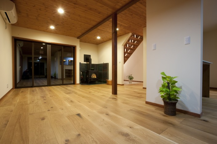 Hardwood Beam Cladding