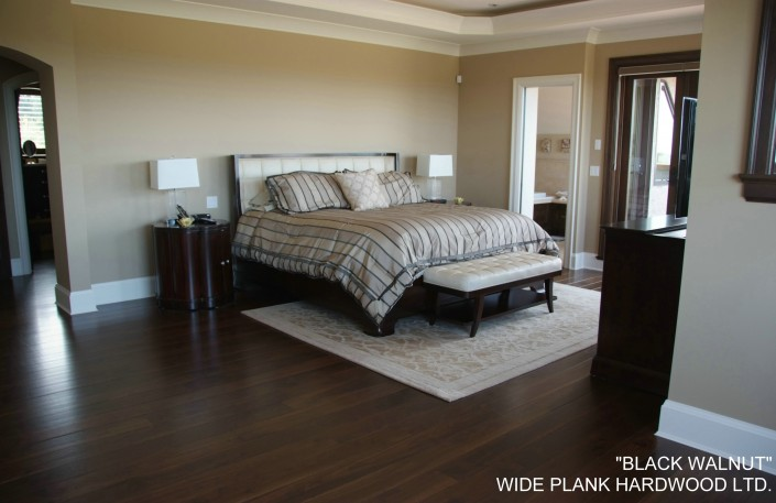 Black Walnut Hardwood Floor - Abbotsford