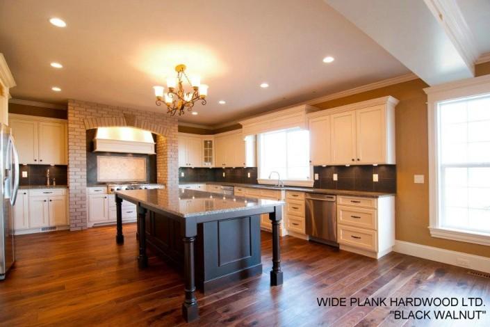 Black Walnut Hardwood Floor - Langley