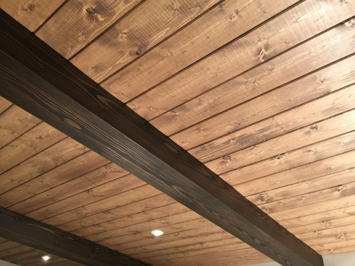 Hardwood Beam Cladding and Ceiling Panels