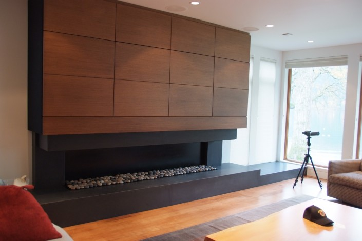 Feature Wall Fireplace