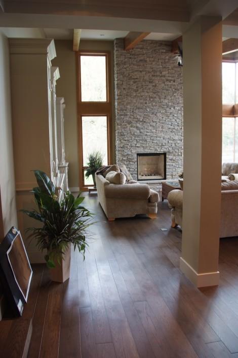 Engineered Hickory Hardwood Floor - Whistler