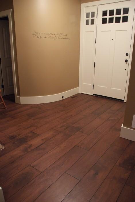 Solid Black Walnut Hardwood Floor - Victoria