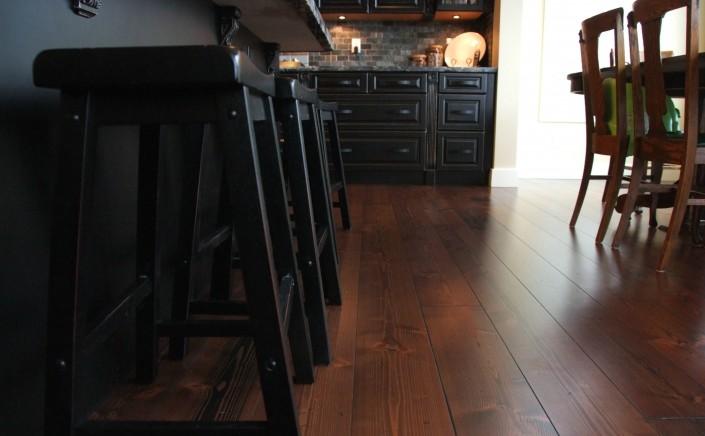 Douglas Fir Hardwood Floor - Chilliwack