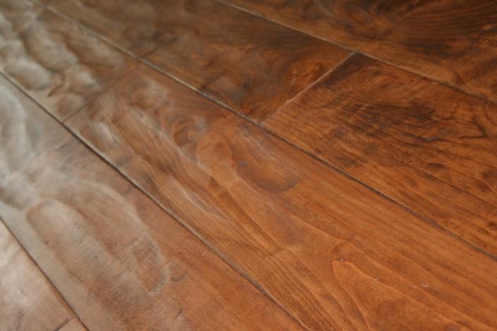 Handscraped Pacific Coast Maple Hardwood Floor - Vancouver