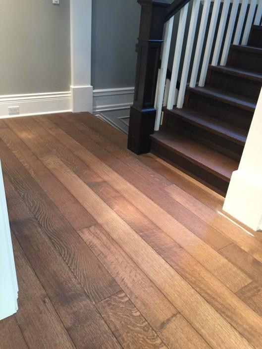 White Oak Rift and Quartered Hardwood Floor - Langley