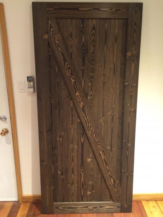 Hardwood Barn Door