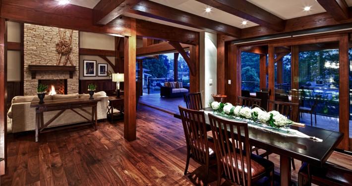 Black Walnut Hardwood Floor