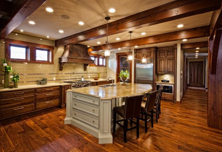 Engineered Black Walnut Hardwood Floor - Harrison
