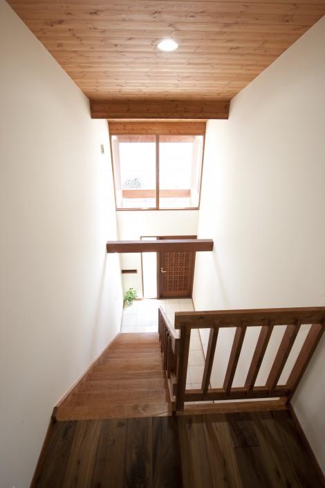 White Oak Hardwood Stairs