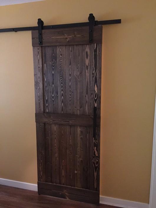 Douglas Fir Hardwood Barn Door