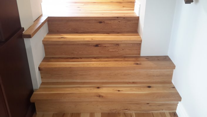 Hickory Wide Plank Hardwood Flooring - richmond