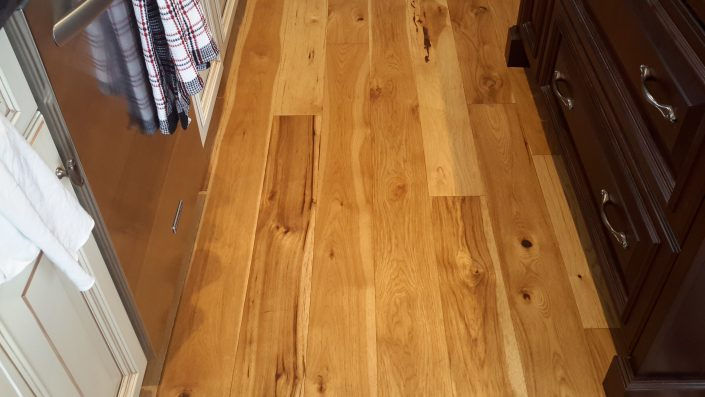 Hickory Wide Plank Hardwood Flooring - Langley