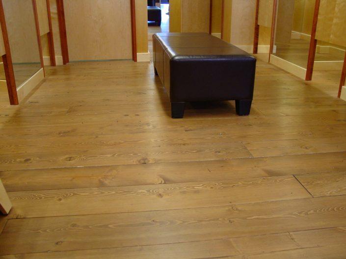 Solid Custom Wide Plank Hardwood Reclaimed Douglas Fir Flooring - Chilliwack