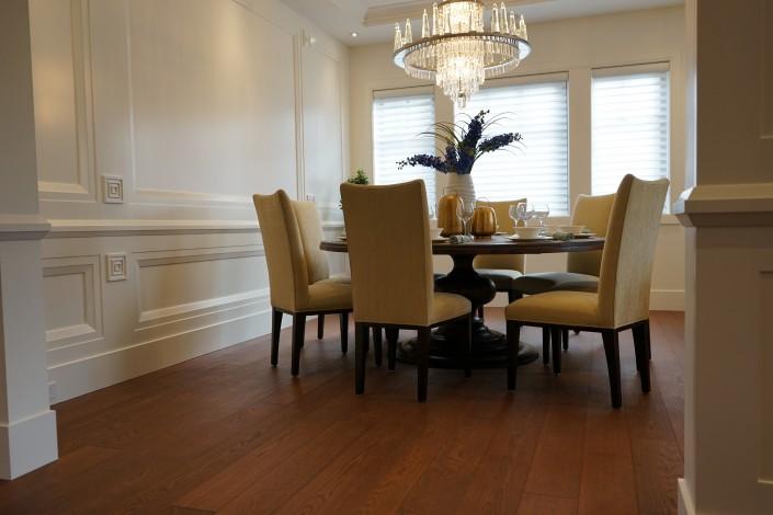 Engineered White Oak Hardwood Floor - Chilliwack