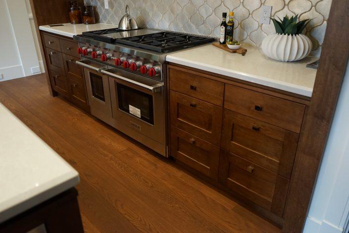 Solid White Oak Hardwood Floor - Vancouver Island