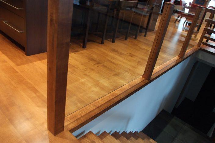 Custom Wide Plank Hardwood Flooring Eastern Maple - Chilliwack