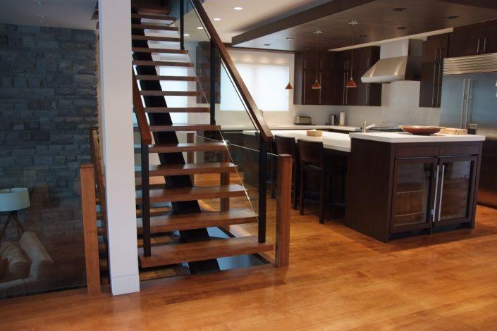 Custom Wide Plank Hardwood Flooring - Surrey