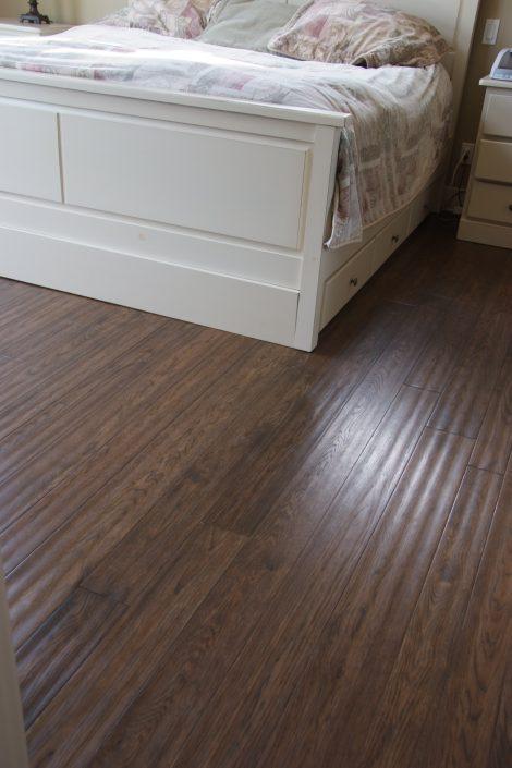 Solid Custom Wide Plank Hardwood Flooring - Blaine