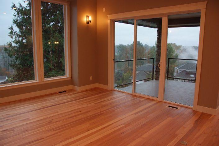 Custom Wide Plank Hardwood Flooring Hickory - Hope BC