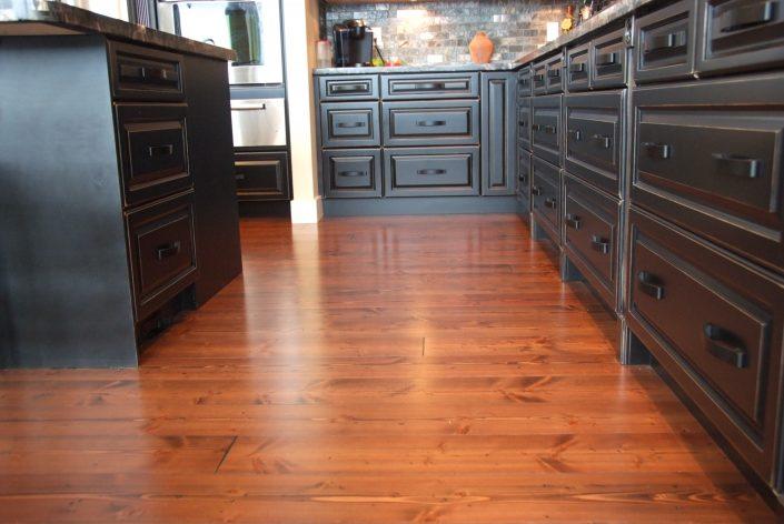 Custom Wide Plank Hardwood Flooring - Chilliwack