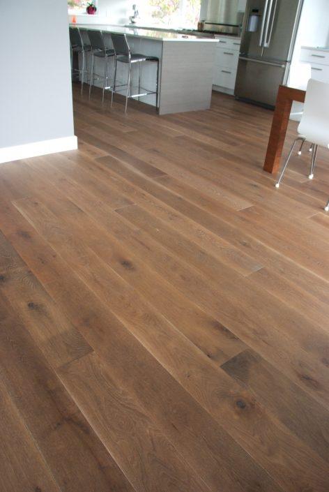 White Oak Custom Hardwood Flooring - Langley
