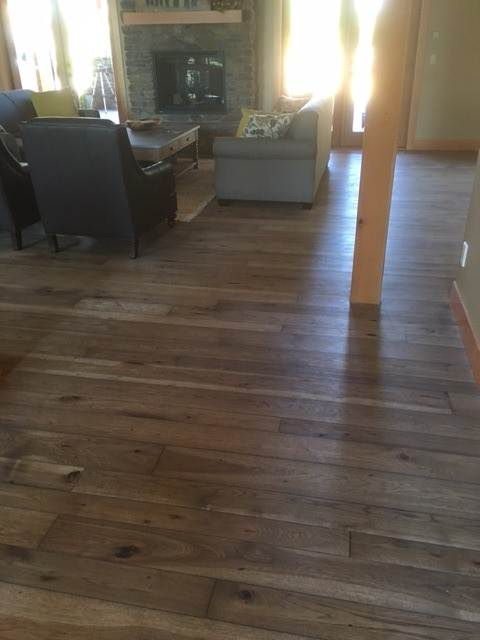 Hickory Hardwood Floor - Chilliwack