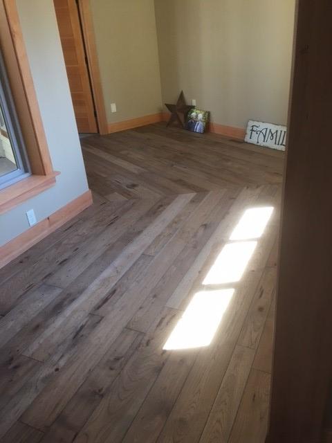 Hickory Hardwood Floor - Burnaby