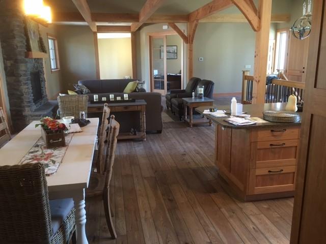 Engineered Hickory Hardwood Floor - Hope BC