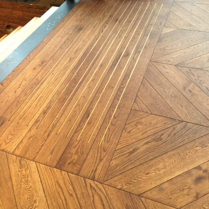 Custom Wide Plank Hardwood Flooring - Victoria